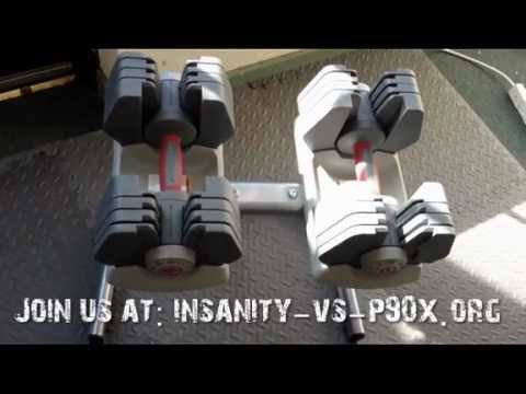 Universal Power-Pak 445 Adjustable Dumbbell P90X Review