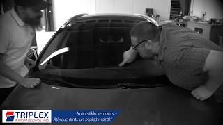 Auto stiklu remonts. Plaisu Remonts. AUTO STIKLU REMONTS UN MAIŅA TRIPLEX SIA. Wizziq