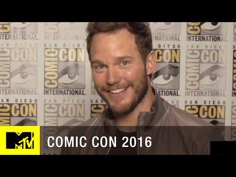 Chris Pratt on his 'Guardians of the Galaxy 2' Dad Kurt Russell   Comic Con 2016   MTV