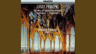 """Fantasia and Fugue on the choral """"Ad nos, ad salutarem undam"""""""