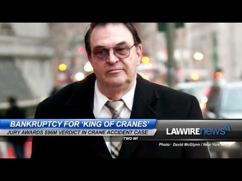 Bankruptcy for 'King of Cranes' | Law Wire News | January 2016