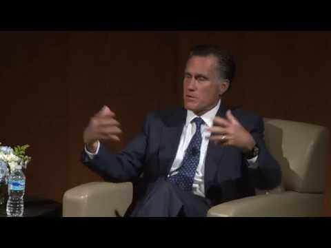 A Conversation with Governor Mitt Romney