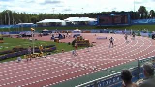 IAAF World Junior Championships Moncton 2010 - 400m women heat 1 - Lauf 1