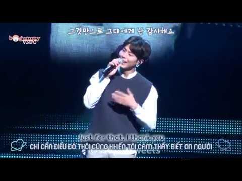 [Vietsub/Engsub] Park Bo Gum - Thanks (Kim Dong Ryul) @Fanmeeting in Seoul 170311