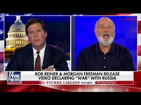 Такер Карлсон и либеральный режиссер спорят о России