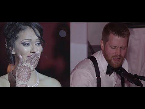 Tum Hi Ho | Frank & Simran | Canadian Groom Sings to Indian Bride