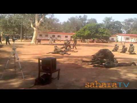 Nigerian Military Anti-Terrorist Training