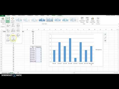 How To Create a Resource Histogram in Excel 2010  YouTube