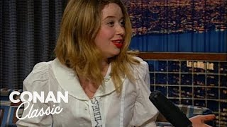 "Natasha Lyonne On ""Late Night With Conan O'Brien"" 12/14/01"