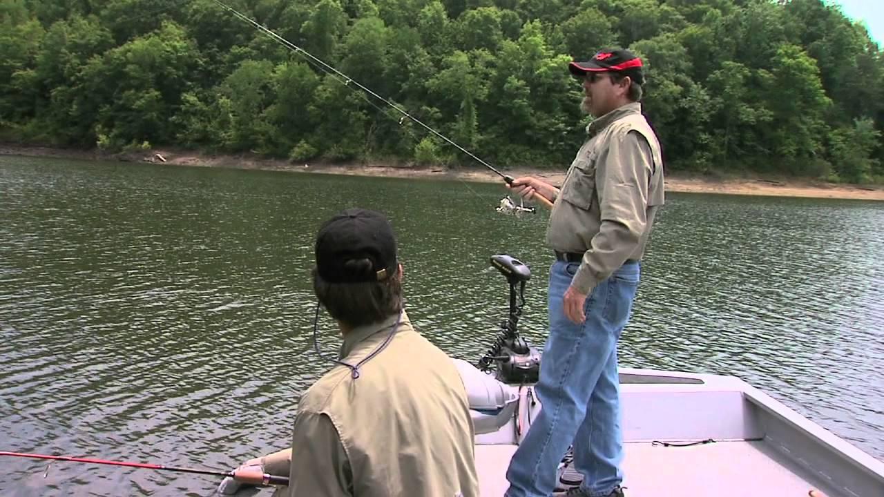Bluegill fishing on lake cumberland youtube for Lake cumberland fishing
