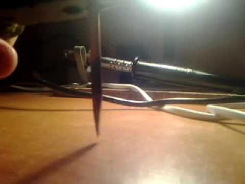Как сделать чтобы олово прилипало к паяльнику
