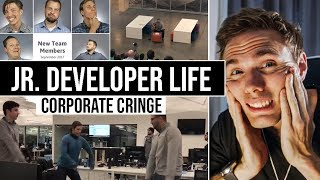 JR. DEVELOPER LIFE  - CORPORATE CRINGE | #grindreel
