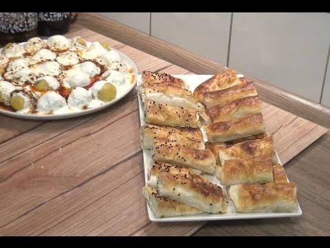 Patatesli Peynirli Banyolu Börek Tarifi