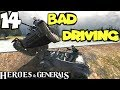 Heroes & Generals Funny Fails & Moments #14 - Bad Driving Compilation (HnG Funny Moments) MP3