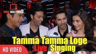 Shaan Singing In Bappi Lahiri Voice Tamma Tamma Loge Live Singing Varun Dhawan Alia Bhatt