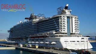 MSC Seaside, complete ship tour