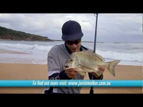 Beach fishing with bait—and landing a 42cm bream!