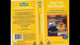 Sesame Street Home Video Don't Eat the Pictures Sesame Street At The Metropolitan Museum of Art