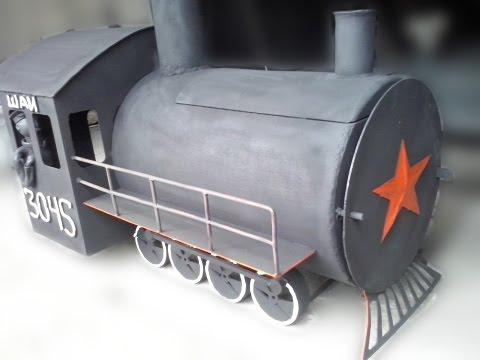 Печь паровоз 👌