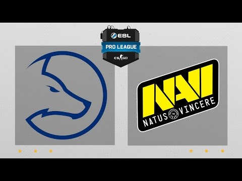 CS:GO - LDLC vs. Na'Vi [Overpass] Map 1 - ESL Pro League Season 5 - EU Matchday 24