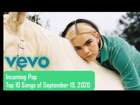 vevo: Incoming Pop | Top 10 Songs of September 19, 2020