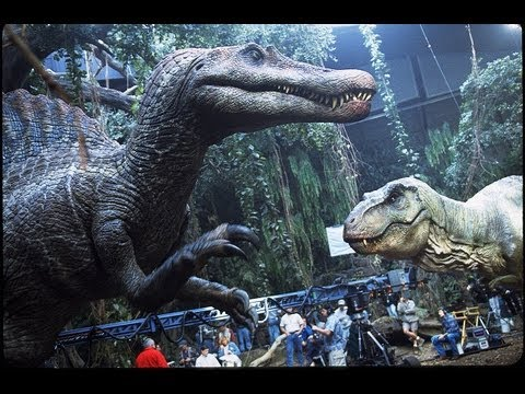 JURASSIC PARK III - Making the Spinosaur Behind-the-Scenes Part 2