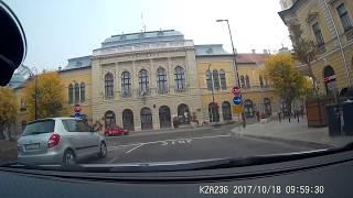 Forgalmi vezetési óra 1- Bálint Márk forgalomban ( részlet ). Helyszín : Cegléd