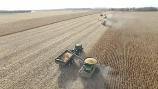 ND corn harvest 2015