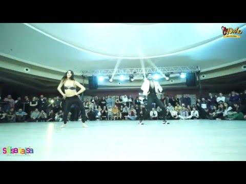 Nusret Dişçi & Su Bige Korucu Show - Tdsf Adana 2.Etap Salsa Yarışması After Party - 2016