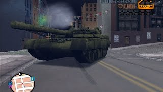 GTA 3: How to get a Tank