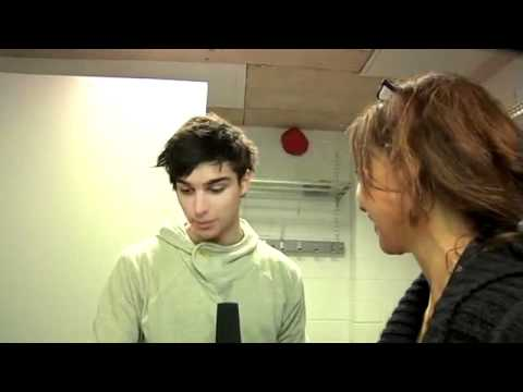 Eric Saade - Interview by Sveriges Radio P4
