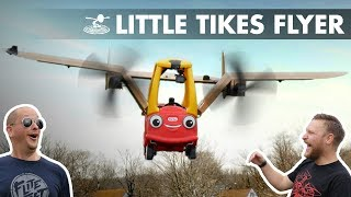 Can a Little Tikes Car FLY!?