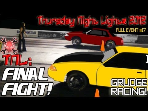 FINAL FIGHT grudge racing, Nitrous Ford Mustang KOTS domination 2012!