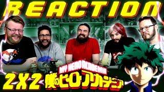 "My Hero Academia [English Dub] 2x2 REACTION!! ""Roaring Sports Festival"""