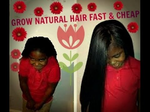 How To Grow Natural Hair Long And Fast