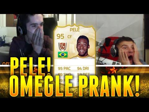 PELE IN A PACK PRANK | OMEGLE FIFA PRANK
