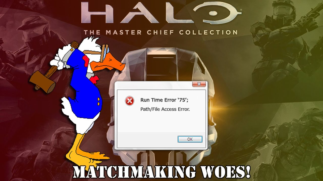 halo 2 matchmaking issues Call of duty: advanced warfare gameplay while talking about the halo: the master chief collection facing matchmaking issues & campaign issues.
