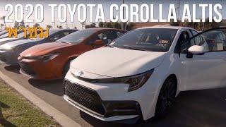 เดินชม 2020 Toyota Corolla Altis กัน มีรุ่นย่อยอะไรบ้าง ไปดู!
