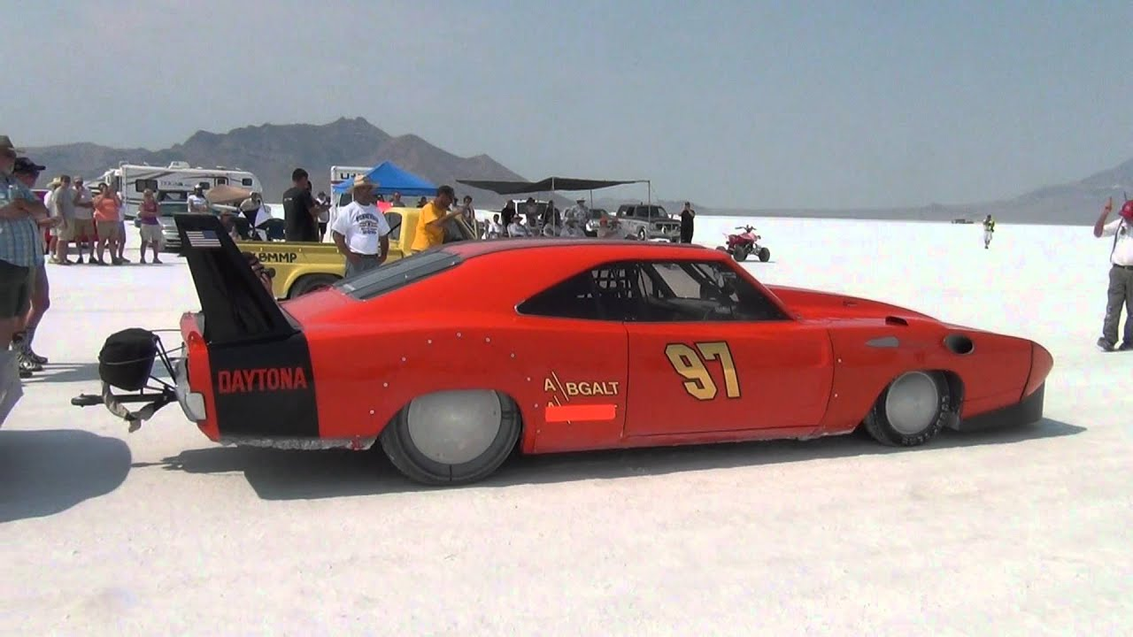 Bonneville Salt Flats Speed Week 2012 Daytona Charger