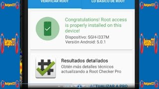 Root Galaxy S4 SGH-I337M Con Android 5.0.1 Lollipop Firmware