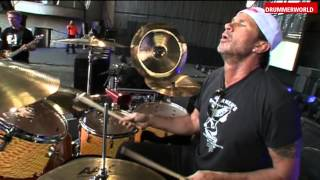 Chad Smith: Warming Up and Soundcheck