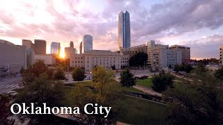Oklahoma City by Drone in 4K