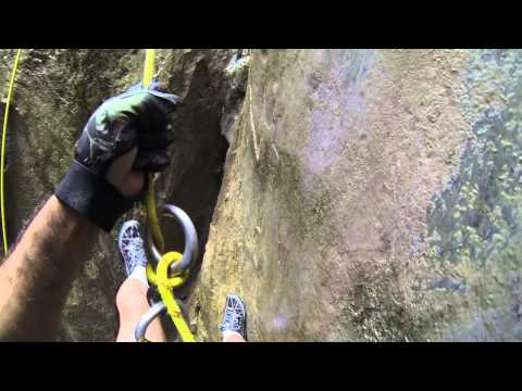 GOPR3118 Matacanes Segundo Rapel en la Mega Cueva
