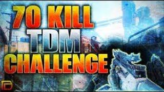 My Best 70+ KILL TDM Infinite warfare xbox one x gameplay