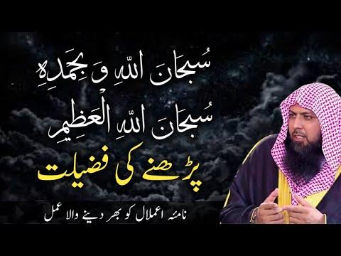 Download  Subhanallahi Wabihamdihi   Subhanallahil Azeem   Padhne Ki Fazilat by Qari Sohaib Ahmed Hafizahullah Gratis, download lagu terbaru