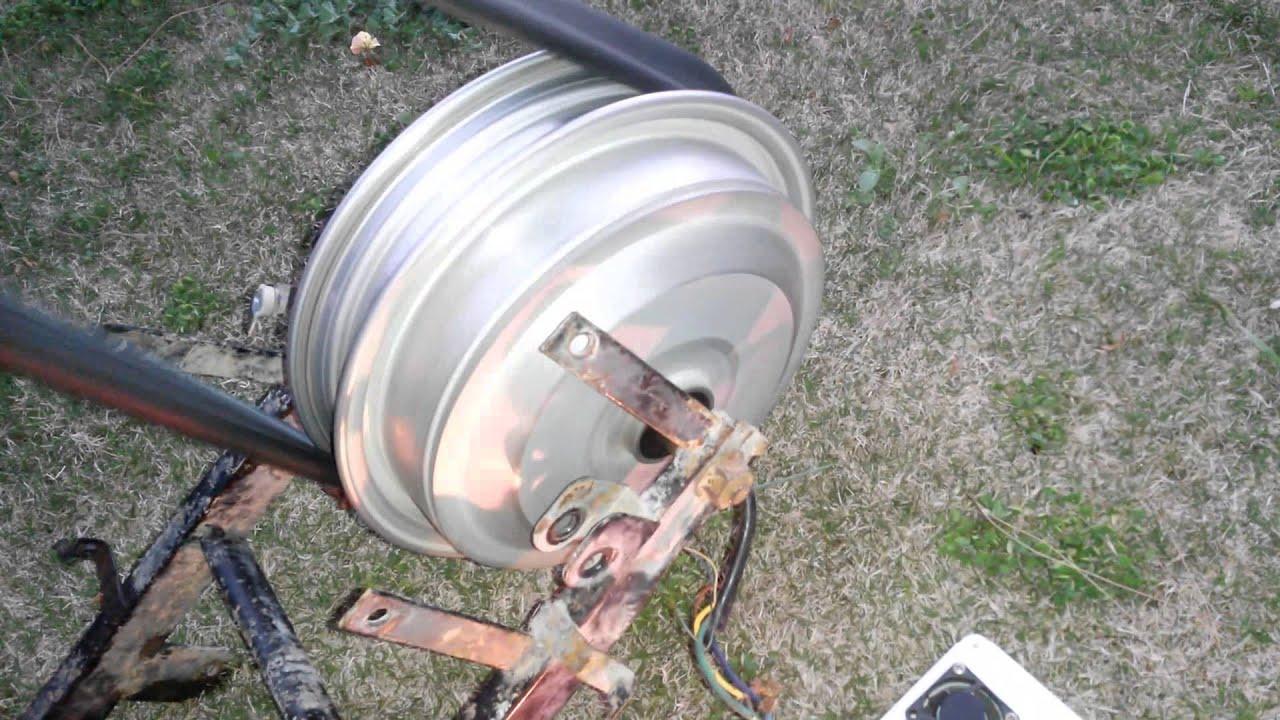 Rüzgar Jeneratörü Yapımı Dinamo Testleri 2- Hub Motor ...
