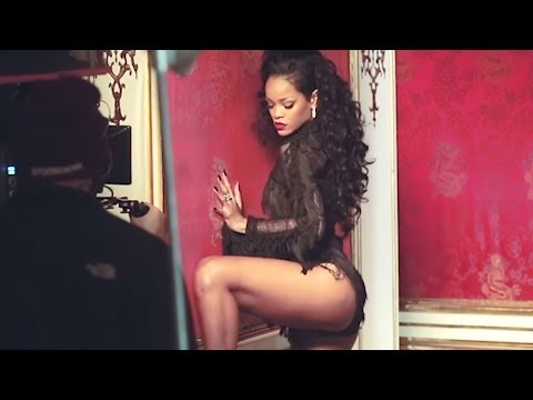 Rihanna & Shakira can't Remember To Forget You Behind The Scenes Video video