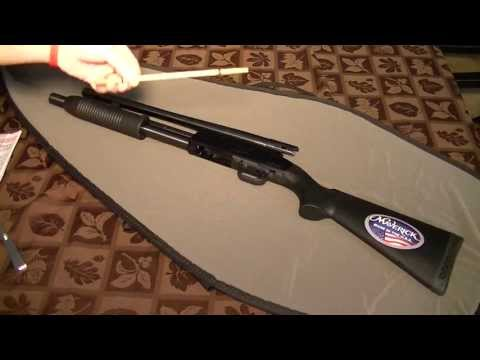 Budget home defense 12 gauge pump shotgun review ($189) Mossberg Maverick 88