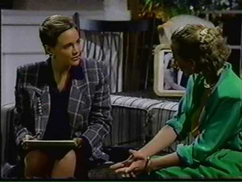 ANOTHER WORLD: 1989 Anne Heche episode Pt. 1 Here is the only episode that I have in my collection to feature Anne Heche as Vicky and Marley. It is an episod...