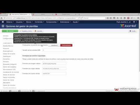 Construcción sitio web Joomla 3 con Pack Webempresa desde cero - 1